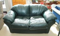 """Leather Love Seat See more at Street Flea Market in Smiths Falls """"Storewide Red Tag Sale"""" 40% off all in store merchandise"""