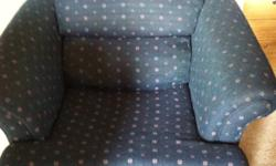 Blue love seat and chair. Free for pick up. Could use a slight cleaning. This ad was posted with the Kijiji Classifieds app.