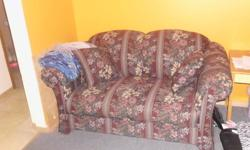 couch, moving and needs to go, you pick it up and load it and its yours call 705 497 3063 or 705 477 5510