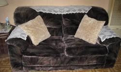 CUTE LOVE SEAT/SOFA BED. GOOD CONDITION. NO TEARS, NO STAINS, NO WEAR. FROM SMOKE FREE HOME.....$20....PICK UP ONLY PLEASE. E-MAIL IF INTERESTED. THANKS.