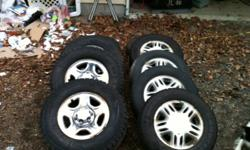 ASking $750 for Truck tires and Rims, Set of 4 Chevy Truck Asking $450 for Van tires set of 4, comes with 2 summer tires aswell. $1100 for all tires.