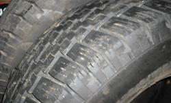 General m/s lt 245/75/16 m/s about 80% tread left asking 90$ for the pair.