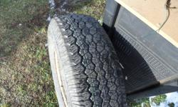Selling my spare tire, a Goodyear Wrangler LT 245/75R16, never used, like new on a 2000 Dodge 3/4 ton 8 stud rim, should fit any 8 stud truck $100. No Emails Please call John 519-693-4821 Wardsville halfway between London & Chatham. Thanks.