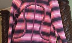 Scuba hoodie, different shades of pink. Size M. In very good condition.