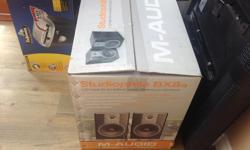 M-Audio Studiophile BX8a 130 Watt Bi-Amplified Studio Reference Monitors