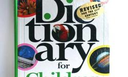 Macmillan Dictionary for Children (revised for the 21st century) ~ Pre-owned in good condition ~ Hard Cover ~ No dog ears, no stains but the corners are scruffed ~ 863 pages with colour photos ~ Contains U.S. presidents up to and including Bill Clinton ~