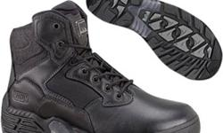 Magnum® Stealth Force 6.0 - Tactical Unit Combat Boots Men's Tactical Boot. CSA-Approved composite toe and plate.     Originally priced at $169.95, clearance priced only $69.95 !! We bought a pile of these boots - first come first serve - while supply