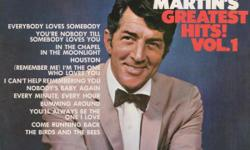Seven LPs: Dean Martin...Greatest Hits Volumes 1 & 2 McGuire Sisters...When The Lights Are Low, Sugartime, Just For Old Time's Sake Patti Page...Manhattan Tower...Hush Hush, Sweet Charlotte Seven for $5.00 in total.