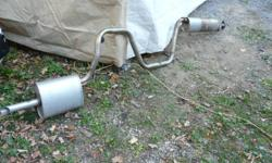 Exhaust for 2004 to 2007 Malibu Maxx. In excellent condition.