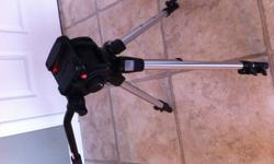 Manfrotto 501HDV- fluid head is very smooth and in great condition. It does have some cosmetic scruffs. Manfrotto 190D tripod- in great condition and shows little signs of use Please contact me if you have any questions