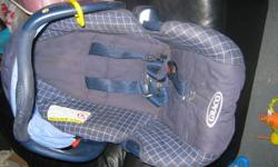 1.Blue carseat- no base-$10 2.Jumparoo- awesome for infants - $30 3.green learning table- not even a yr old. great condition- $15 Contact by e-mail or phone if any further questions