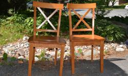 Very sturdy $25. each or two for $40.00 solid maple
