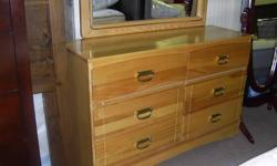 """Solid Maple 6 Drawer Dresser with Matching Mirror. 48"""" wide. $199.95 Storewide clearance Sale On NOW ! SIDNEY BUY & SELL your furniture, mattress and more store We are Buying and Selling. New and Used. Come SEE. 9818 Fourth St. Sidney BC . Check our other"""
