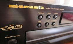 NICE, WORKS AND SOUNDS LIKE NEW UPGRADED VERSION OF ORIGINAL 3000 SERIES Fabulous Hi-End Marantz CD player. Glorious audio, as expected with Marantz brand. Tested with many CDs before sale, reads scratched CDs. Clean in and out, dust-free, smoke-free.