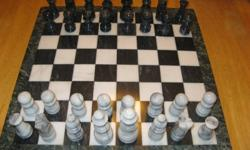 I have a beautiful Marble Chess Set for sale ***LIKE NEW*** - Even the Board is marble! Nice felt bottoms on each piece. Paid $149 new asking $75 O.B.O. Set weighs 10 lbs in total. Please email or call Matthew at 705-783-5421 between 9am and 11pm 7 days a
