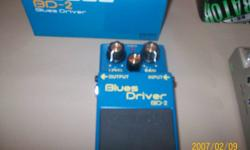 I have 3 guitar pedels Also blues driver $50 and a distortion $30 only