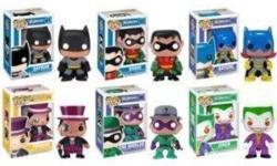 Selling these collector edition Vinyl Dc & Marvel Pop Hero Exclusive Vinyl Figurines / bobble heads. $18 EACH Green Lantern, Green Lantern Movie edition, Red Skull, Thor, Loki, Riddler, Robin, Sinestro, Superman, Spiderman, Thing, Hulk Get them all!