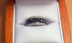 I have two matching black diamond rings, a men's and a women's. Retail value for the pair is $1600. I'm asking $1000 for both or $500 each. These rings are very sparkly and have never been worn. This ad was posted with the Kijiji Classifieds app.