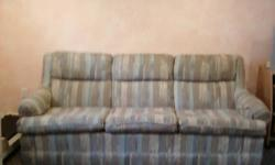 Mathcing sofa and love seat in good condition.  150.00 $ for both or will sell seperatly. Call 705-335-6936