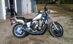 1986 yamaha maxim X 750 only made two years this bike is crazy fun cheep insurance bike look an runs great bought new one an it's too big for wife . Make offer or trades welcome thanks