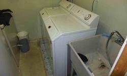 Maytag Neptune Washer & Dryer(gas) Model: MAH3000 Bought new - White; Side by side;  Front loading.  The washer and dryer are in good working order - doing loads of laundry as I type this add.  The exterior is in good condition ( note: some very small