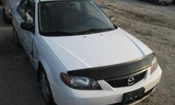 MAZDA PROTEGE (1999/2003 PARTS PARTS ST #W GL201/ONT)   CALL GREEN LANE AUTO PARTS ASK FOR MIKE IF YOU NEED ANY OTHERS PARTS THIS CAR IS NOT FOR SALE PLASE DONT SEND ANY EMAIL CALL (905) 762-0888 ASK FOR MIKE WE HAVE ALL PARTS FOR THIS CARS