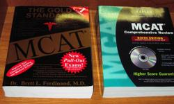 My daughter used these to help her pass the MCAT exam on the first try. In as-new condition - no markings or highlights. Over $170.00 when bought - $100.00 gets them both!.