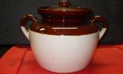 McCoy Bean Pot   Like new, medium size
