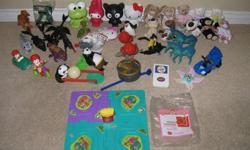 """1) McDonalds toys LOT $10 30+ items, including """"How to train your dragon #6 Terrible Terror"""" NIB   2) McDonalds Disney Finding Nemo Set $10   Take all for $12   Available for pick up (Mississauga)   NO Holds.    Please check my other items """"View poster's"""