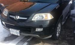 Make Acura Model MDX Year 2005 Colour BLACK kms 252000 Trans Automatic E-tested