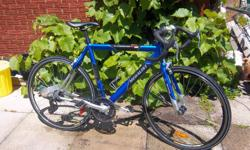 "Medalist 7005, Aluminum frame. Royal Blue. 21 speed, 700 X 28 wheels, 22 1/2"" frame. Very good condition. Only $325 NOW $300. We are located in Orleans. See our list of other items for sale. First come, first served."