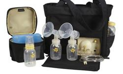 Medela In Style electric, double breastpump...used for 3 months. Paid $440.00 in December 2015. Works extremely well! Will deliver to Sault Ste Marie residence. :)