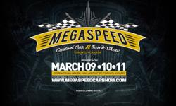 The Mega Speed Custom Car and Truck Show will happen at Mississauga's International Centre Friday March 9 through Sunday march 11, 2012,   This premier event will feature hundreds of the hottest custom cars, hot rods, and trucks from across Canada and the