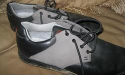 Men's ASHWORTH Golf Shoes Size 9 Color - Grey/Black Good condition ONLY $10 Can meet in west end of ottawa (kanata) or pickup in Constance Bay