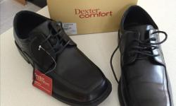 """1) Dexter Comfort Men's Black Dress Shoes Spencer Oxford """"Heel cushion softens your step"""" Worn only a couple of times Size: 10 1/2 Wide Complete with original box and shoehorn $50 2) Joseph Seibel The European Comfort Shoe Hardly worn Size: European 44"""