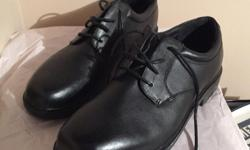 Men's, size 12 Boulevard Club, Leather shoes. In LIKE NEW condition. No Signs of any wear.