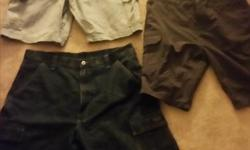 3 pairs of men shorts. Size 36 waist. 30 for all 3 or 10 bucks a pair. All never been worn.