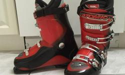Atomic B65 men's ski boots, size 27.5, in excellent condition, worn only once