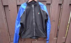 Men's size XL Corazzo motorcycle jacket. Worn a few times and in excellent condition. No marks or stains.