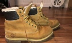 Men?s timberlands, size 8. They?re a little bit beat condition 7/10. 80$ OBO Posted with Used.ca app