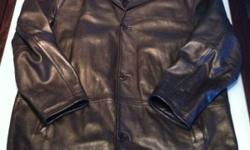 OZ XL black leather jacket -retails $500 -Asking $100 Report Collection Lg brown leather jacket -retails $300 -Asking $80 Massimo XL light brown leather jacket -retails $350 -Asking $80 4Youmen XL black leather jacket -retails $500 -Asking $100 This ad
