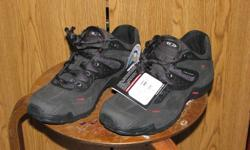 """Selling a New Pair of Shoes """"Salomon Eliso 2"""" They are a top quality leather Shoe. Asking $55."""