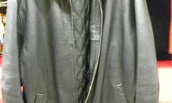 Mens XL Leather Jacket, item # I-12742. Gap. Price of $159 includes all taxes. PLEASE REFER TO INVENTORY # I-12742 WHEN INQUIRING. We also have more items for sale at The Bay Street Broker located on the corner of Bay and Government St. open till 6:00 pm