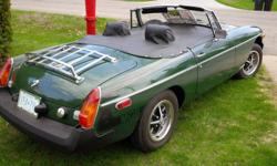 Make MG Model MGB Year 1978 Colour green kms 78000 Trans Manual 1978 MGB , IN THE FAMILY FOR 29 YEARS RUNS,, AND DRIVES FINE, TIME TO FIND A NEW HOME, WINTER STORAGE AVAILABLE FOR THE SEASON $300.00