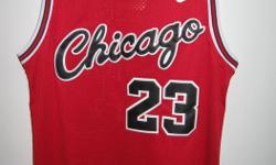 Various Michael Jordan Bulls jerseys for sale $60 each. Sizes small, medium and large. All new with tags. Please inquire about ordering other jerseys and check out my other ads for more sports jerseys (NFL, NHL, MLB, Soccer, CFL)
