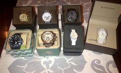 1 - http://store.emporioarmaniwatches.com/en_US/shop/women_watches_jewelry/ceramica/ceramic_watch-AR1439P.html?imagePath=AR1439# RETAIL + TAX $502 MY PRICE $350 2 - http://www.bigapplewatch.com/proddetail210.asp?prod=MICHAEL-KORS-MK8196-Watch_MK18903