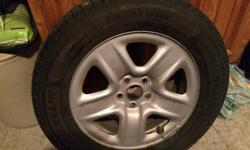 Michelin Latitude XICE Winter Tires with Toyota Winter Rims 225/65/17 Used 1 season Perfect condition, like new Purchased December 12, 2015, still have original invoice Only available because vehicle was sold
