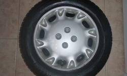 Michelin X-Ice snow tires 195/60 R15. Rims and hubcaps included Great cond. lots of tread left. Fixs Hondas and Saturns Asking $175 OBO