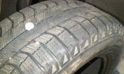 Michelin X-Ice  215/65/16 Tires are in new condition with very minimal use. only 2 tires