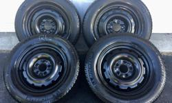 Set of 4 gently enjoyed winter tires on rims. Michelin X-ice (Xi2) 215 / 65R16 98T Rims fit bolt pattern 5x114.3 (eg. Dodge Grand Caravan). Rims, tires all in very good condition. Text first, please.